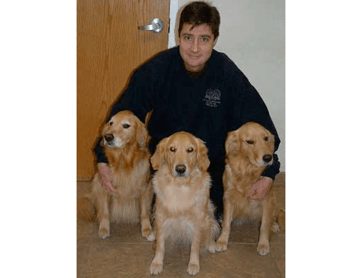 Dr. Boillat at Chesterfield Veterinary Clinic