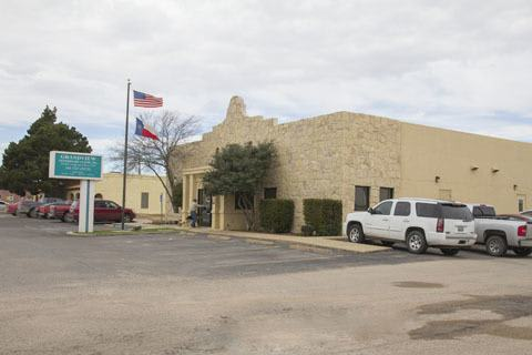 Exterior of Grandview Veterinary Clinic in Odessa