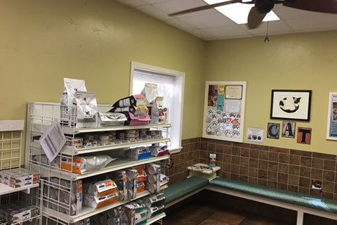 Grandview Veterinary Clinic reception