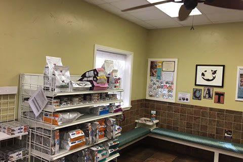 Grandview Veterinary Clinic reception