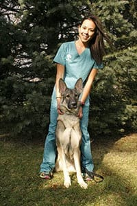 Ellora Schwartz, Kennel Attendant at Oak Knoll Animal Hospital