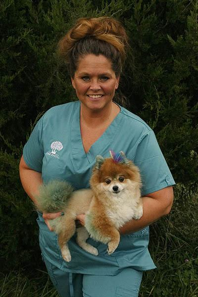 Robyn McDaniel, Lead Client Relations Specialist at Oak Knoll Animal Hospital animal clinic.