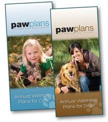 Paw Plans brochure in Winston Salem