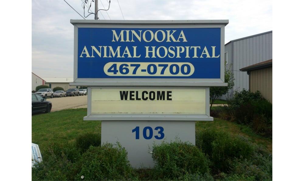 Welcome to Minooka Animal Hospital in Minooka, IL