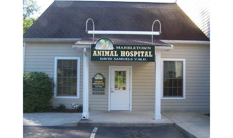 Exterior at Marbletown Animal Hospital