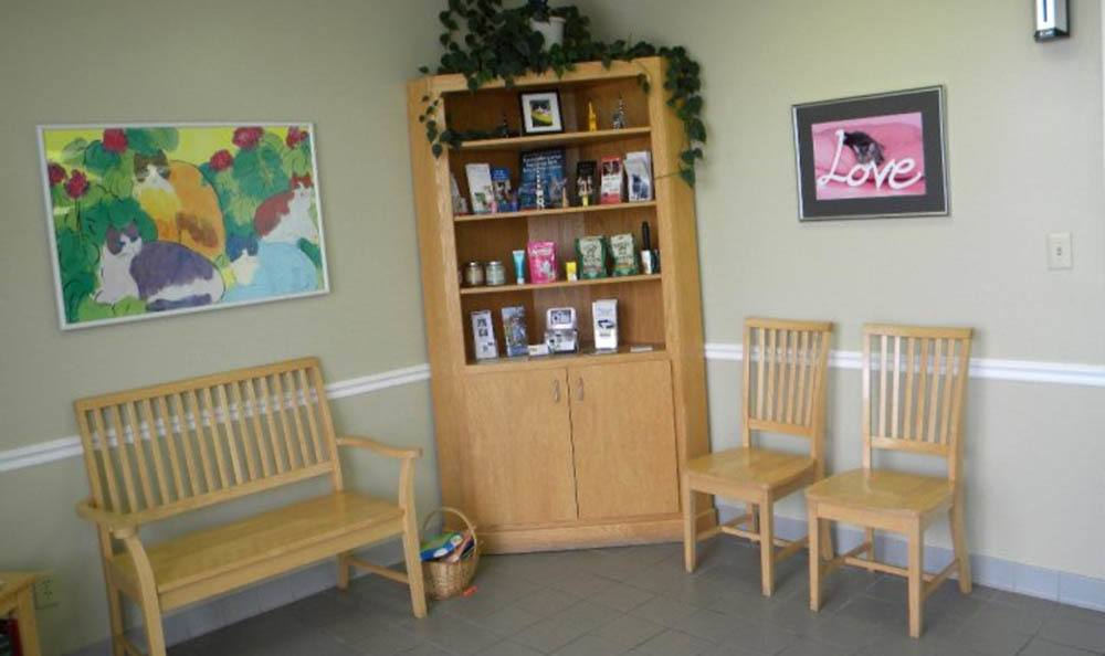Hidden Valley Animal Hospital & Boarding Lobby