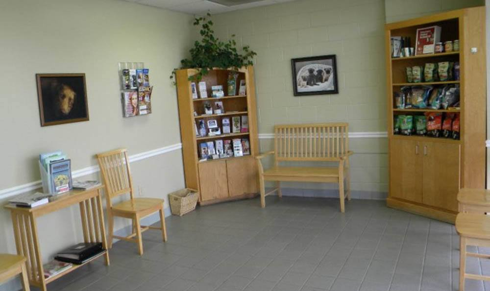 Waiting Room At Hidden Valley Animal Hospital & Boarding