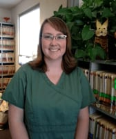 Erin Smith at Albuquerque animal hospital