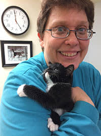 Team member Becky at Cedarwood Veterinary Clinic