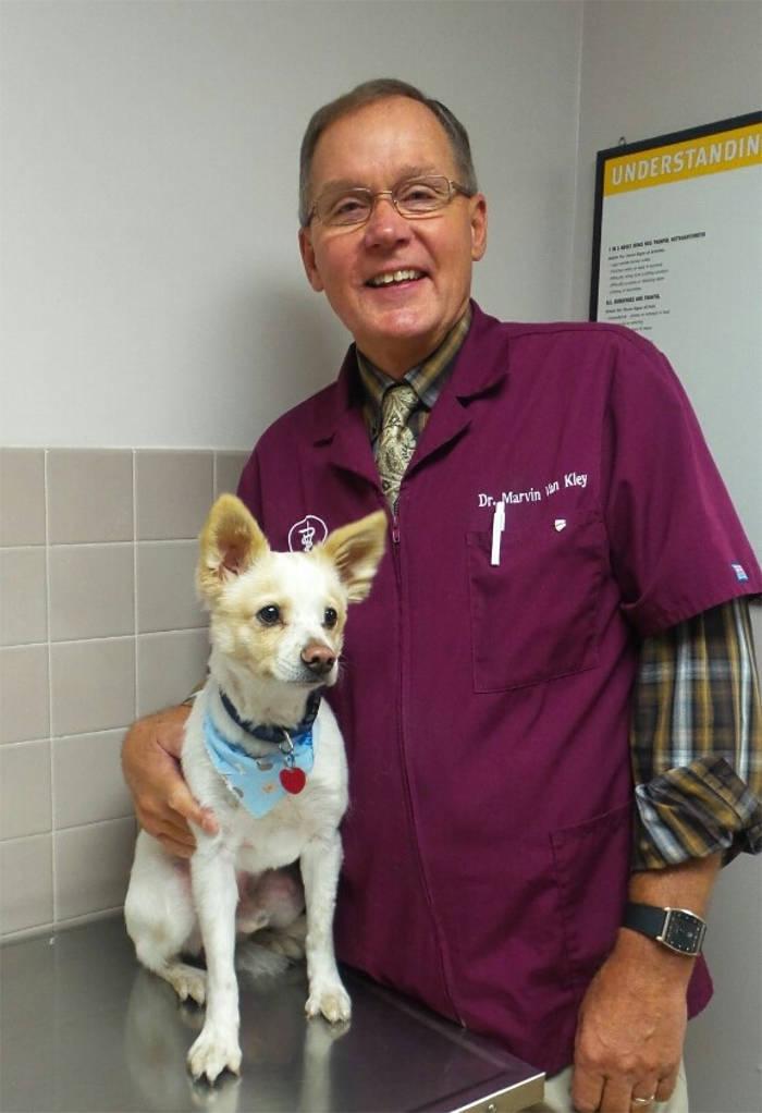 Dr. Marvin Van Kley at Kokomo Animal Hospital