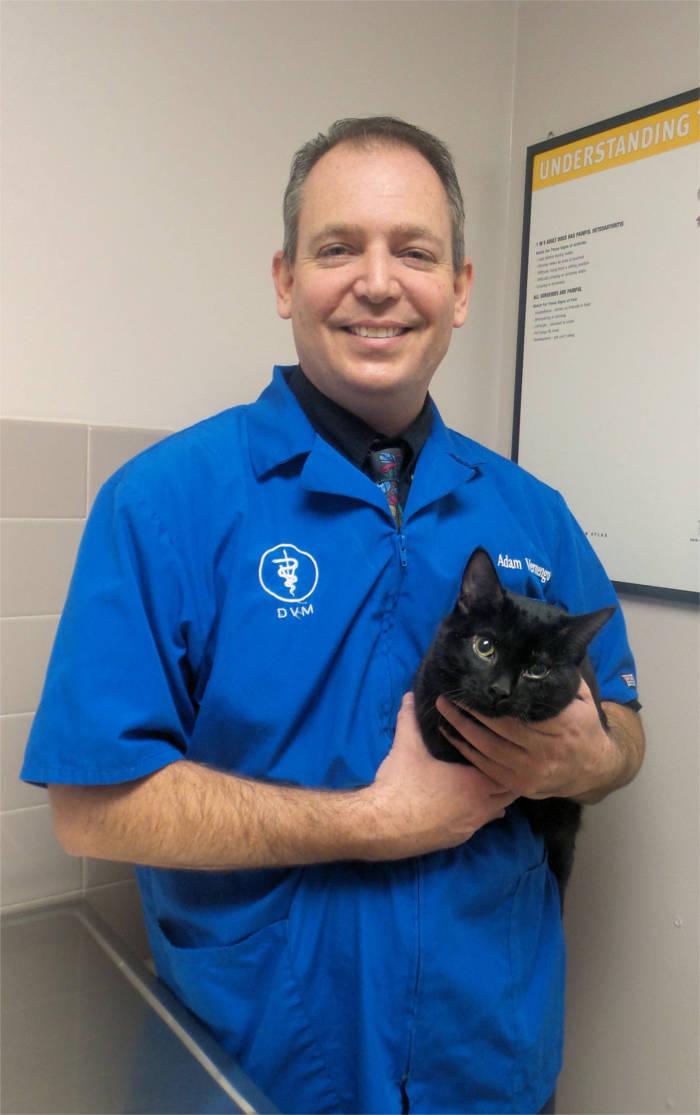 Dr. Adam Vernengo at Kokomo Animal Hospital