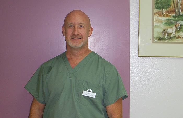 Ken Lewis, Technician at Albuquerque Animal Hospital