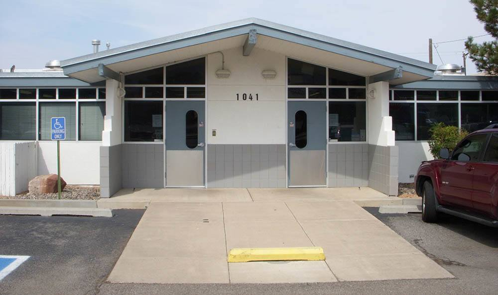 Exterior at Albuquerque animal hospital