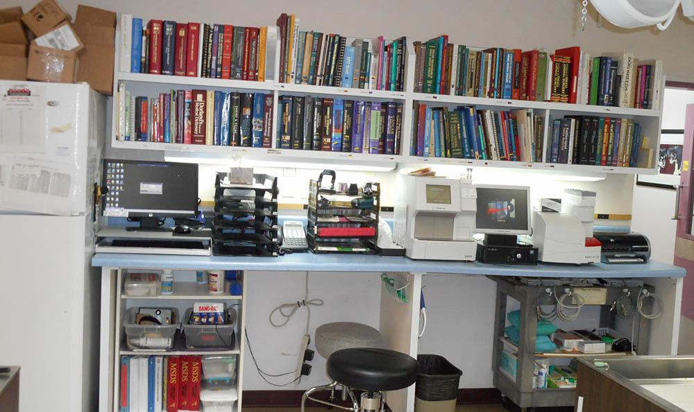 Albuquerque animal hospital lab and library