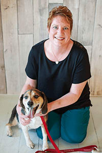 Team member Linda at Okanagan Veterinary Hospital