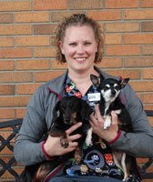 Amy Schoeberl, CVT at Sioux Falls Animal Hospital