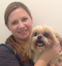 Aireal Hammac at St. Simons Island Animal Hospital