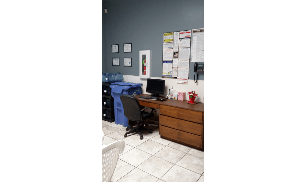 Breakroom at Acres North Veterinary Hospital in Lubbock
