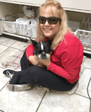 Aristea Silvas at Lubbock animal hospital