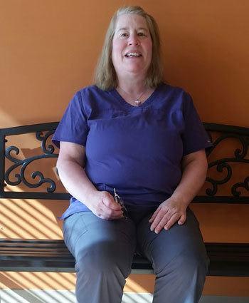 Jeannie, Receptionist at Lake Street Animal Hospital