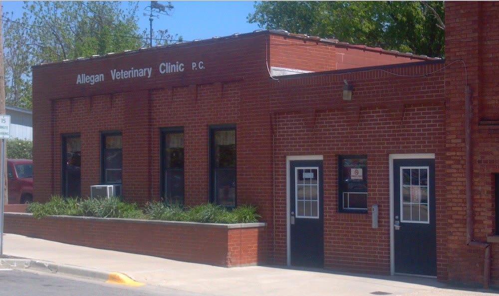 Main office at Allegan Animal Hospital