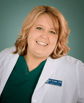 Dr. Christina Kulage at Animal Medical Center of Amarillo