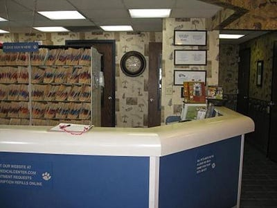 Reception Area at Animal Medical Center of Amarillo in Amarillo