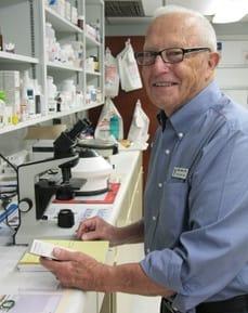 Fred Rader, DVM at animal hospital in Bradenton