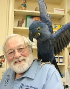Mike Mossler at animal hospital in Bradenton