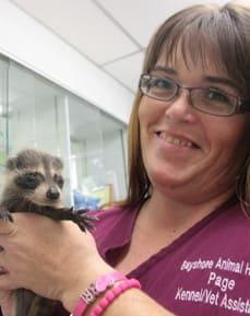 Page Watkins, Kennel at Bradenton Animal Hospital