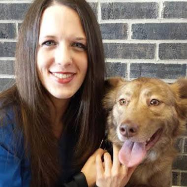 Angela at Elkhart Animal Hospital
