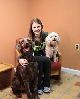 Kiersten Wentzel, Veterinary Assistants at York Animal Clinic