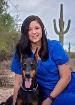 Samantha Anzelmo at Scottsdale Animal Hospital