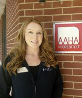 Hospital Manager, Lisa, at Wheaton Animal Hospital
