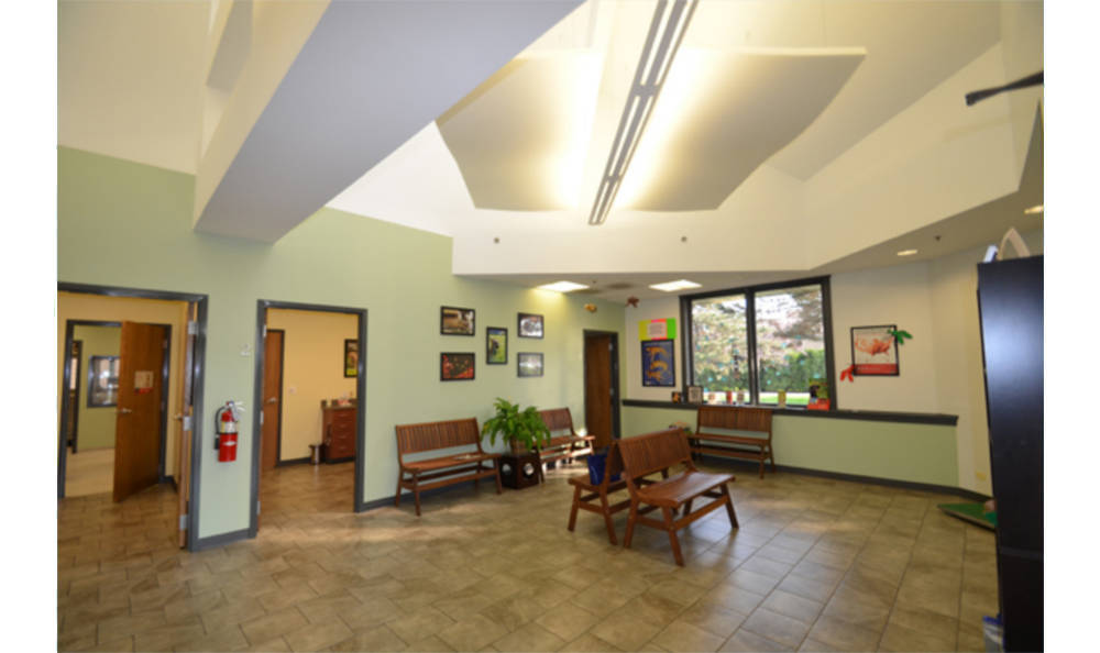 Animal Medical Clinic - Wheaton lobby