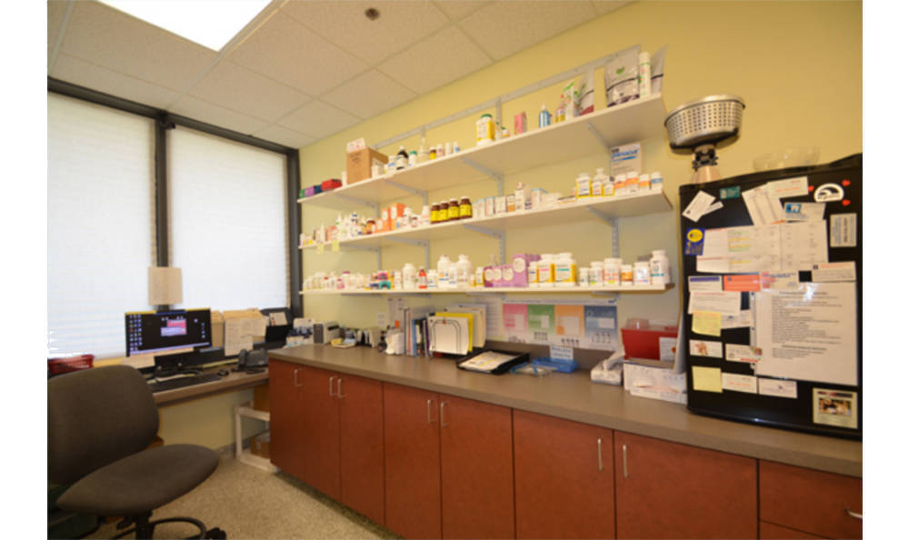 Pharmaceutical area at Animal Medical Clinic - Wheaton