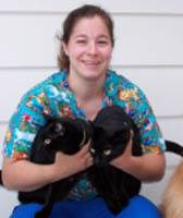 Team member Amy at Westover Animal Clinic