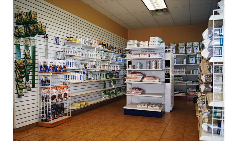 Shop here for you pet's needs at O'Connor Road Animal Hospital