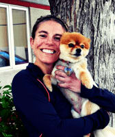 Team member Erin at All City Pet Care Veterinary Emergency Hospital