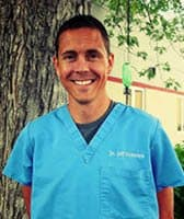 Dr. Jeff Heitman at Sioux Falls animal hospital