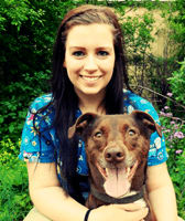 Team member Stephanie at All City Pet Care Veterinary Emergency Hospital