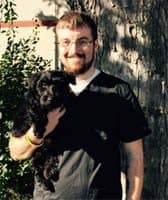 Team member Zach at All City Pet Care Veterinary Emergency Hospital