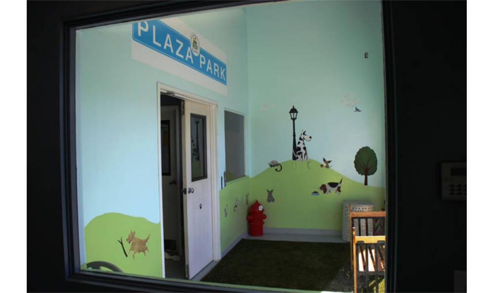 A view at the Playroom in Plaza Del Amo Animal Hospital & Pet Keeper