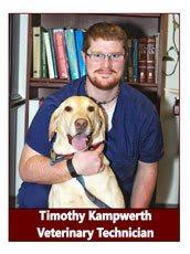 Tim, Veterinary Technician at Pocatello Animal Hospital