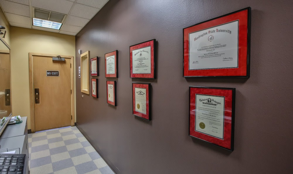 Certifications at Kitsap Veterinary Hospital