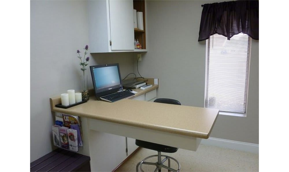 Exam room at San Antonio Animal Hospital