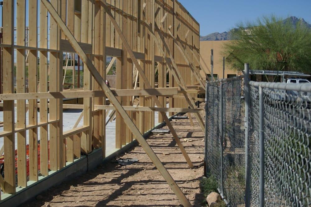 construction progress at Catalina Pet Hospital in Tucson