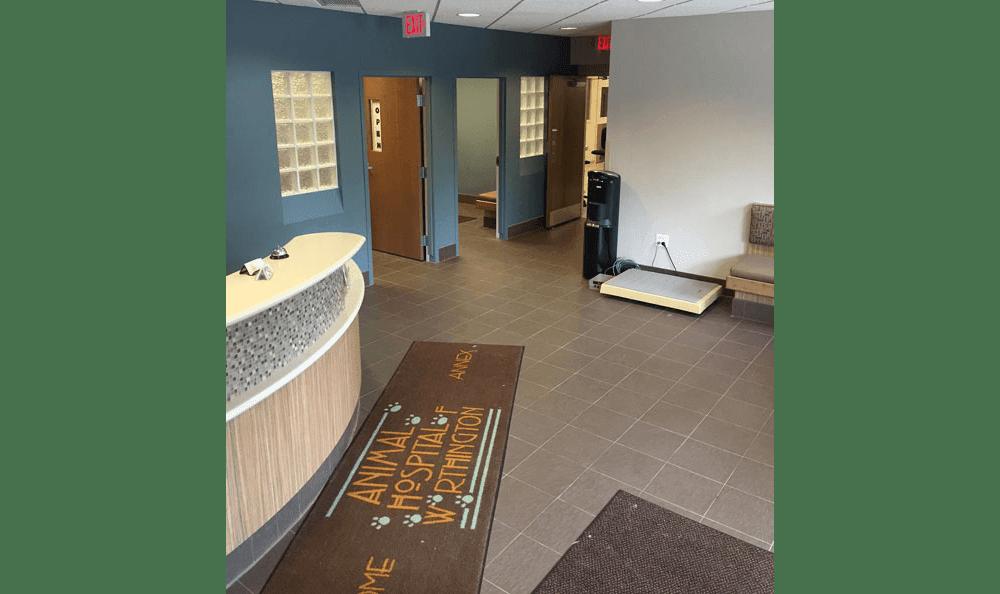Lobby Annex at Animal Hospital of Worthington