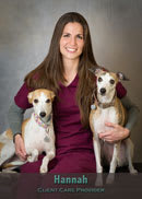 Hannah client care provider at Friendship Hospital for Animals