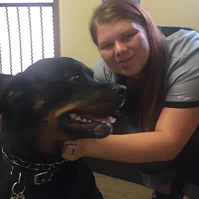 Anastasia at Pacifica Animal Clinic